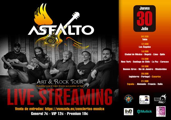 ASFALTO - Jueves 30 de Julio