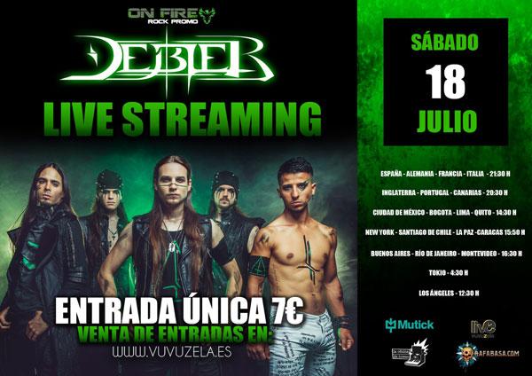 DEBLER - Sábado 18 Julio